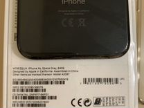 Первозданный iPhone XS 64Gb Space Gray на гарантии