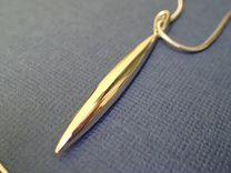 Золотой кулон Tiffany оригинал