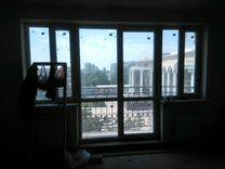 Продаю балконную дверь ветражную б\у