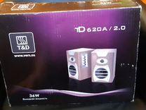 Колонки Top Device td620a 2.0 36вт — Товары для компьютера в Москве