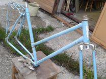 Вело-рама -дамская к дорожному велосипеду