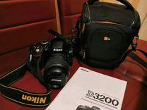 Фотоаппарат зеркальный Nicon 3200