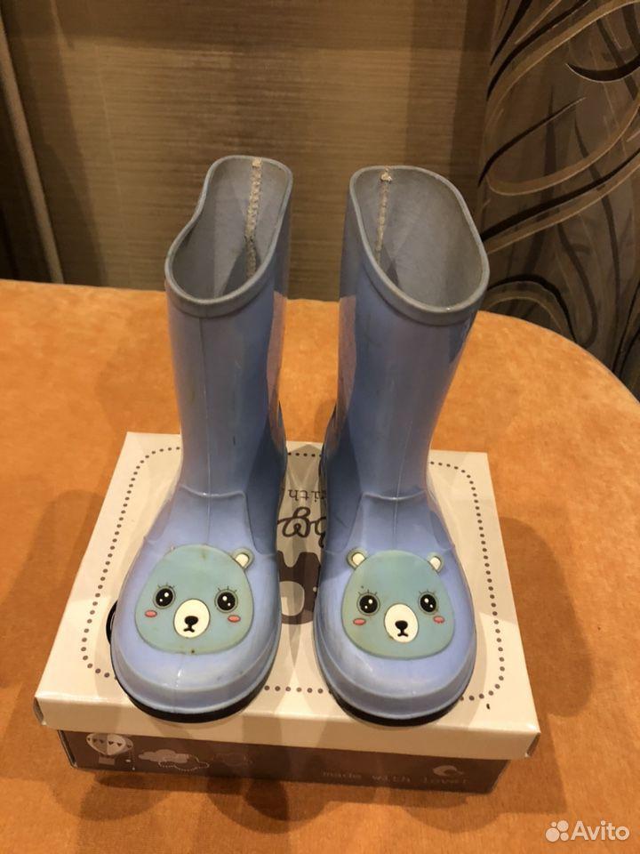 Резиновые сапоги детские  89535128388 купить 1