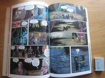 Продам книгу- комикс ведьмак - Лисьи дети