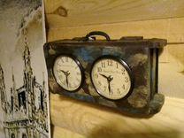 Часы Мужские в Подарок 2-х циферблатные