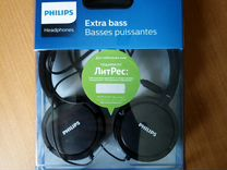 Наушники philips extra bass