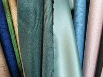 Ткань для штор зелен1