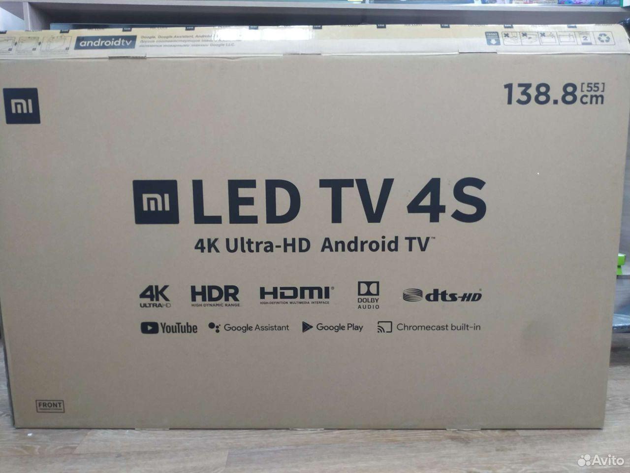 Xiaomi mi tv 4S (EU) 55Гарантия.Рассрочка  89131409838 купить 1