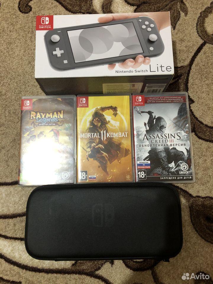 Nintendo switch lite  89612714389 купить 1